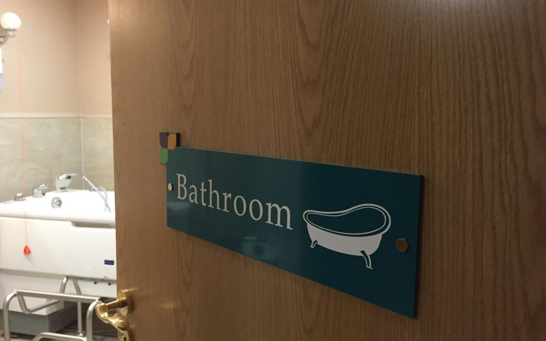 Directional Signage For People With Dementia Or Alzheimer S