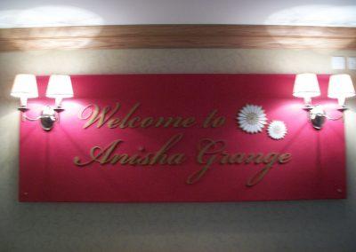 Anisha Grange Sign
