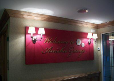 Anisha Grange Welcome Sign