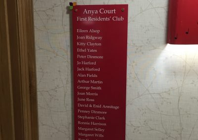 Anya Court First Residents Club