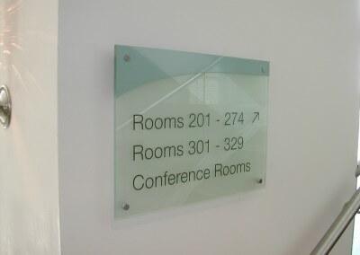 Hotel Internal Sign