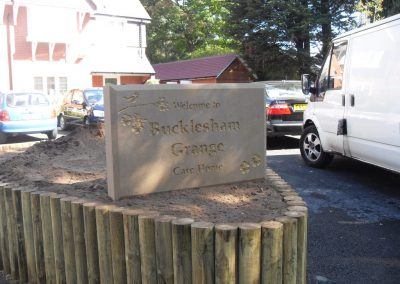 Care Home Welcome Sign