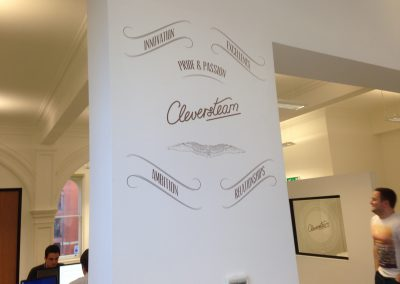 Cleversteam Wall Graphics