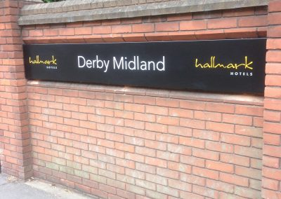 Derby Midland Sign
