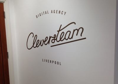 Digital Agency Wall Graphics