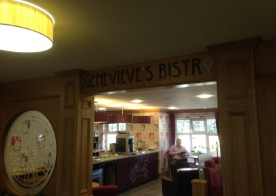 Genevieves Bistor Sign