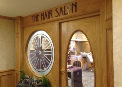 Hair Salon Flat Cut Lettering