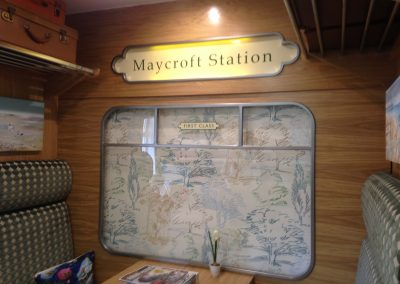 Maycroft Station Sign