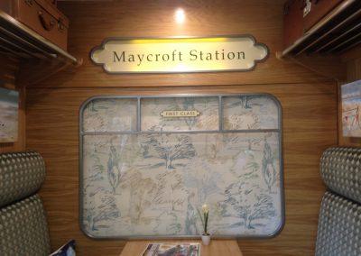 Maycroft Station Signage