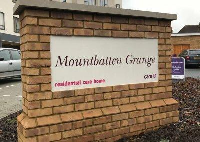 Mountbatten Grange Sign