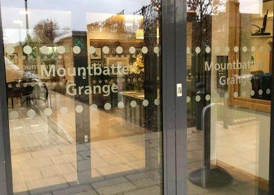 Mountbatten Grange Window Graphics