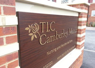 TLC Care Sign