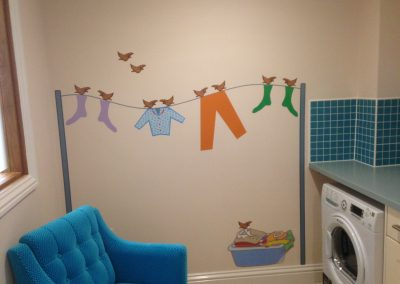 Washing Line Wall Graphics