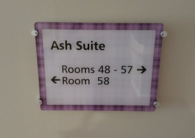 Care Home Directional Sign