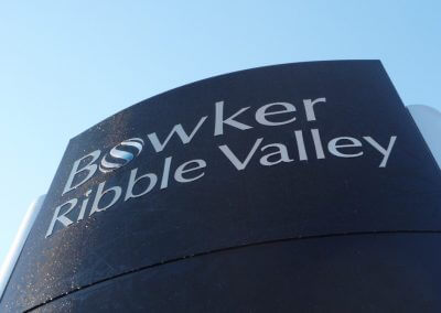 Bowker Ribble Valley Sign