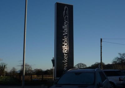 Bowker Ribble Valley Totem Signage