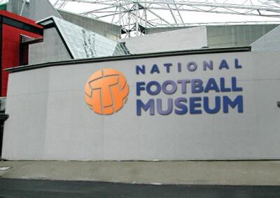 National Football Museum Signage