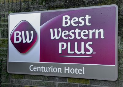 Best Western Wall Mounted Sign