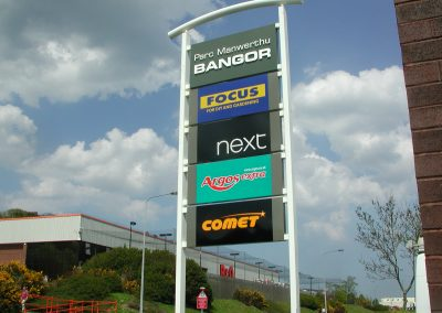 Bangor Retail Totem Signage