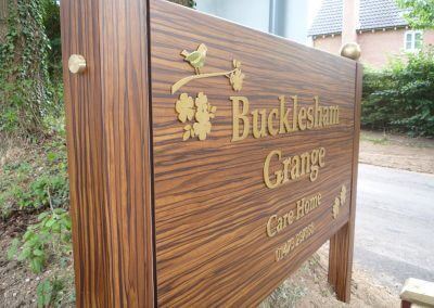 Bucklesham Grange Post Mounted Sign