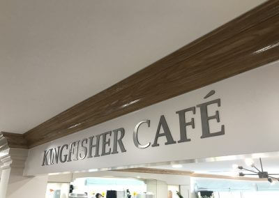 Cafe Sign for Care Home