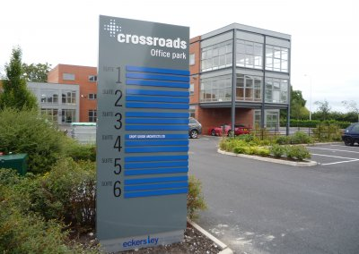 Crossroads Totem Sign