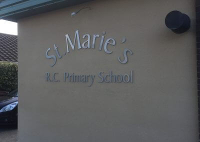 Flat Cut Letters for Primary School