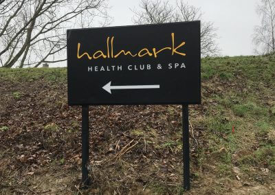 Hallmark Post Mounted Sign