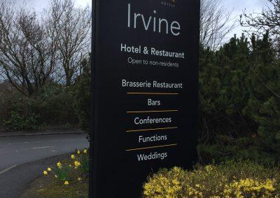 Irvine Totem Signage