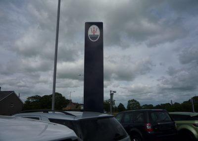 Maserati Signage