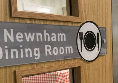 Dementia Dining Room Sign
