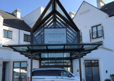 Carnoustie Golf Hotel & Spa Window Graphics