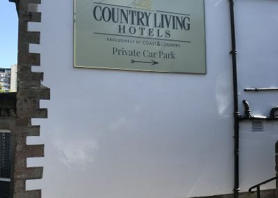 Hotel Wall Mounted Sign