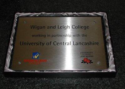 University Plaque
