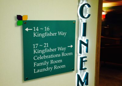 Wayfinding Care Home Sign