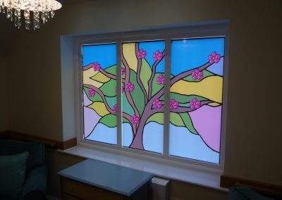 Coloured Window Graphics
