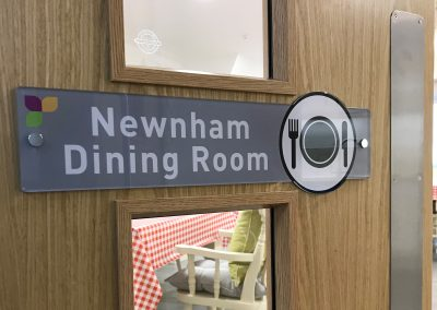 Dining Room Door Sign