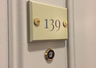 Wooden Door Number