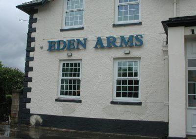 Eden Arms Sign