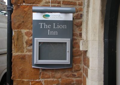 Lion Inn Wall Mounted Sign