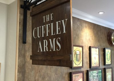 Handmade Wooden Projecting Sign