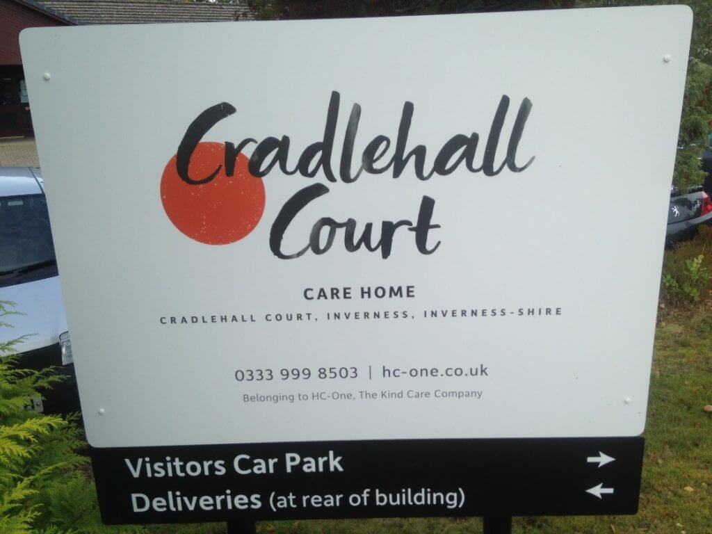 cradlehall court tp signs