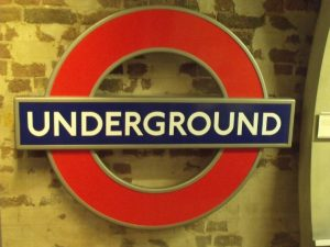 london underground rebrand