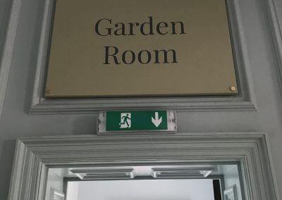 Garden Room Sign