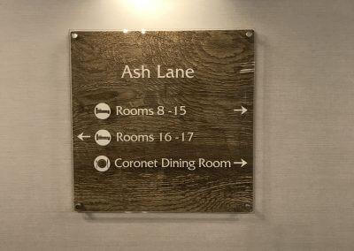 Ash Lane Wayfinding Sign