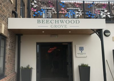 Beechwood Grove Sign