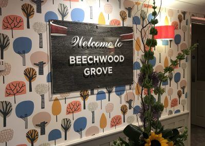 Beechwood Grove Wall Mounted Sign