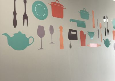 Cutlery Wall Graphics