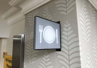 Dining Room Projecting Sign