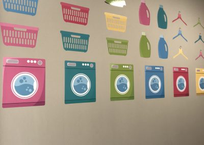 Laundry Wall Graphics